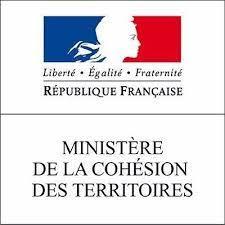 Logo ministère cohésion sociale de territoires