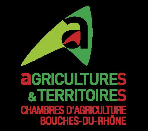 Logo agriculture et territoires Bouches-du-Rhone