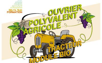 Ouvrier Polyvalent Agricole Tracteur – module bio