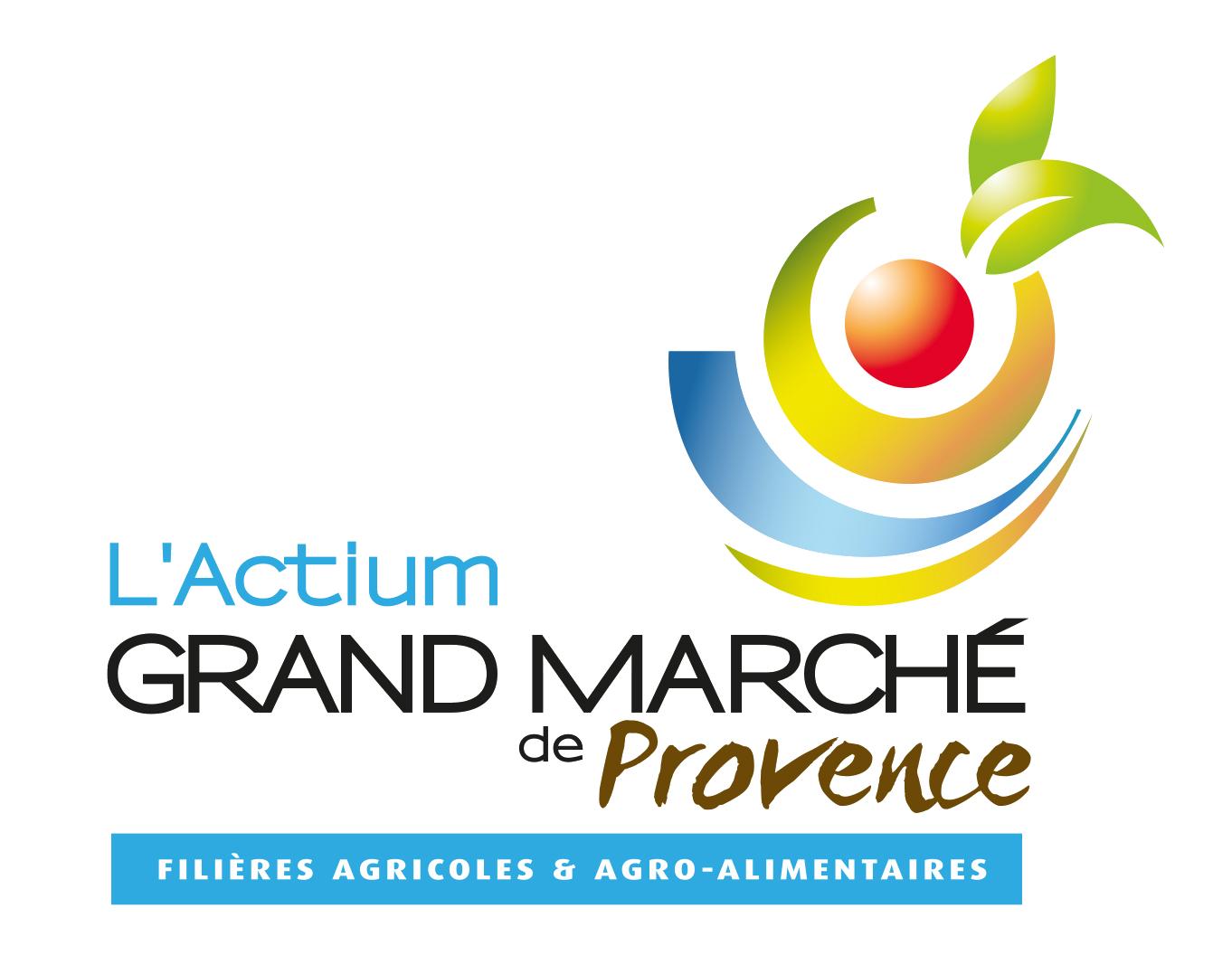 Logo l'Actium Grand Marché de Provence